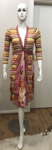 Sandwich Kleid Sommerkleid Maxikleid M 38