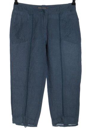 Sandwich Pantalon en lin bleu style décontracté