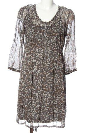 Sandwich Petticoat Dress allover print casual look