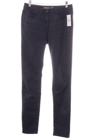 Sandwich Skinny Jeans dunkelblau Casual-Look