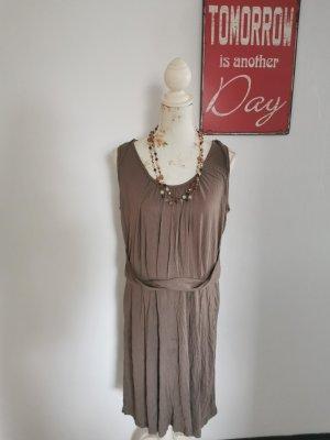 Sandwich Special Damen Sommerkleid Freizeitkleid Jersey taupe Größe XL NEU