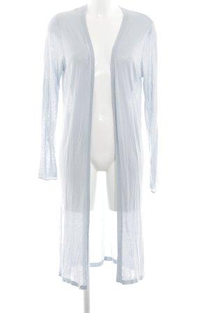 Sandwich Gebreide jas wit casual uitstraling