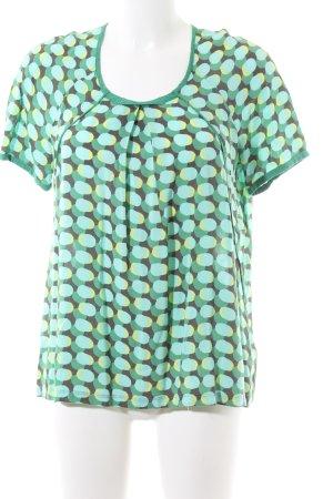 Sandwich T-Shirt Allover-Druck Casual-Look