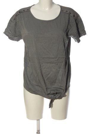 Sandwich T-Shirt hellgrau Casual-Look