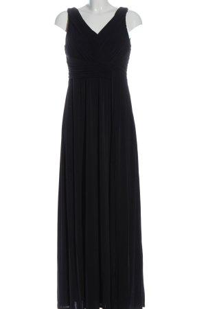 Sangria Maxi abito nero elegante
