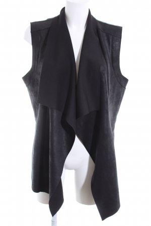 Sani Blu Reversible Vest black casual look