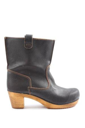 Sanita Low boot brun-orange clair style classique