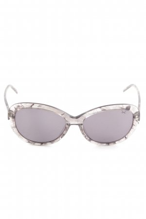 Sansibar Gafas mariposa gris claro degradado de color look casual