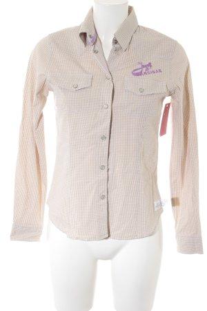 Sansibar Camicia blusa motivo a quadri stile casual