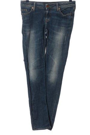 Sansibar Low Rise jeans blauw casual uitstraling