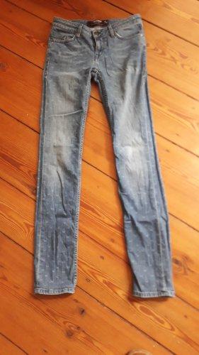 Sansibar Jeans a gamba dritta blu Cotone