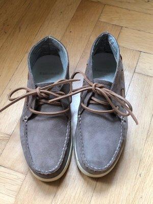 Sansibar Chukka boot argenté cuir