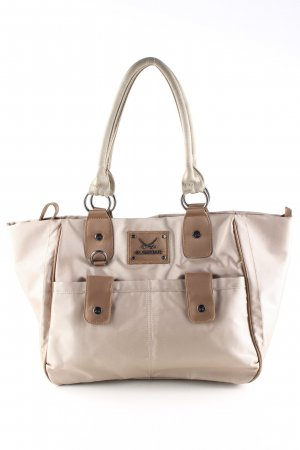 Sansibar Shopper cream-brown casual look