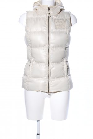 Sansibar Quilted Gilet cream quilting pattern casual look
