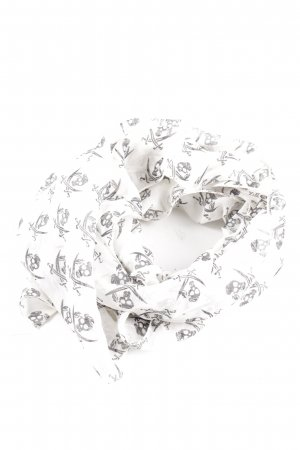 Sansibar sylt Neckerchief white-black themed print casual look