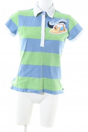 Sansibar sylt Polo-Shirt Motivdruck Casual-Look