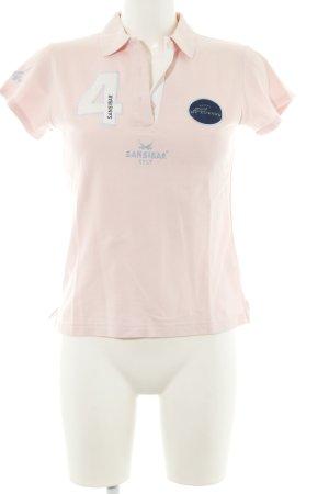 Sansibar sylt Polo-Shirt pink sportlicher Stil