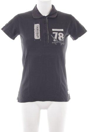 Sansibar sylt Polo-Shirt anthrazit sportlicher Stil
