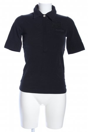 Sansibar sylt Polo-Shirt schwarz Casual-Look