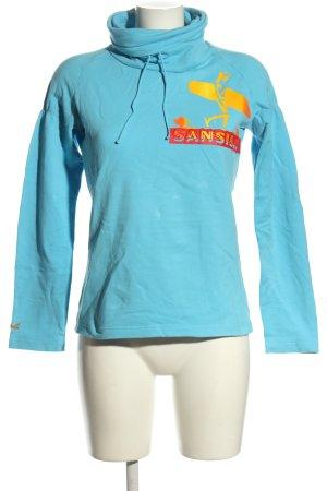 Sansibar sylt Sweatshirt Motivdruck Casual-Look