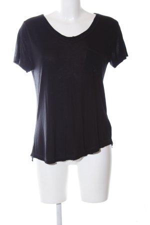 Sansibar sylt T-Shirt schwarz Casual-Look