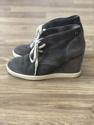 Sansibar Wedge Sneaker taupe-natural white