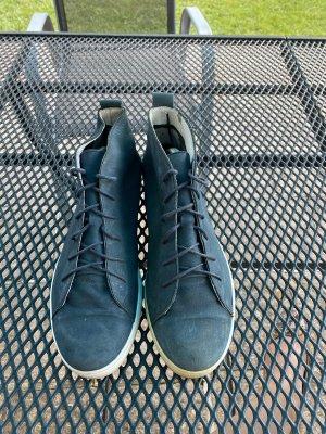 Sansibar Wild Leder Sneaker Gr 39 blau