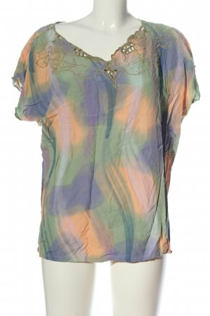 Santas Batik shirt abstract patroon elegant