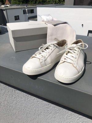 Santoni Sneaker, Größe 8 (42/43), weiß