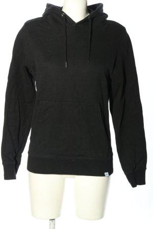 SANVT Kapuzensweatshirt schwarz Casual-Look
