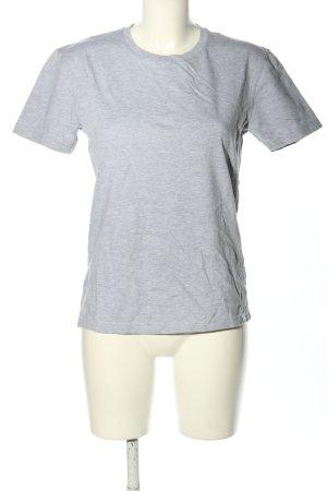 SANVT T-Shirt hellgrau meliert Casual-Look