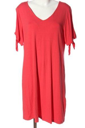 Sara Lindholm Shortsleeve Dress red casual look