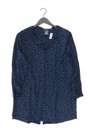 Sara Lindholm Long Sleeve Blouse blue-neon blue-dark blue-azure viscose