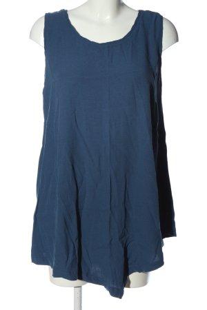 Sara Lindholm Long Top blue casual look