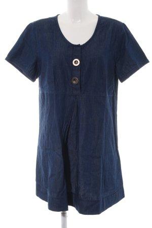 Sara Lindholm Minikleid blau Casual-Look