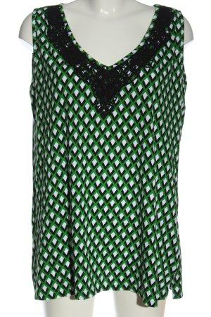 Sara Lindholm T-shirt motif abstrait élégant