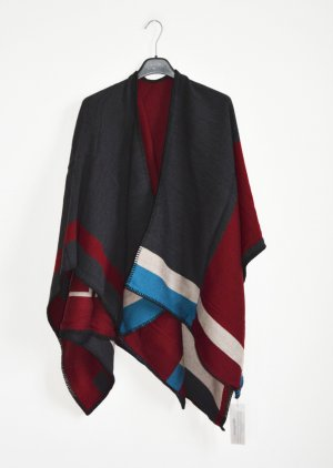 Cape multicolore laine
