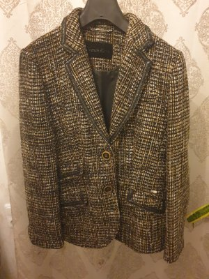 Sarah Kern Knitted Blazer brown