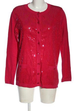 Sarah Kern Cardigan red casual look