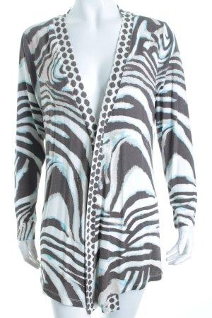 Sarah Kern Cardigan Animalmuster Street-Fashion-Look