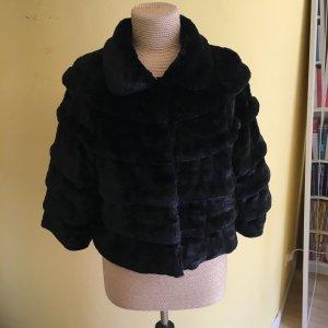 Sarah Kern Fake Fur Jacke Gr. 44 ungetragen