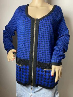 sarah kern gr 40 damen karo blazer cardigan vintage neuwertig