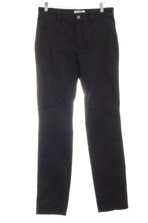 Sarah Kern Hoge taille jeans zwart casual uitstraling