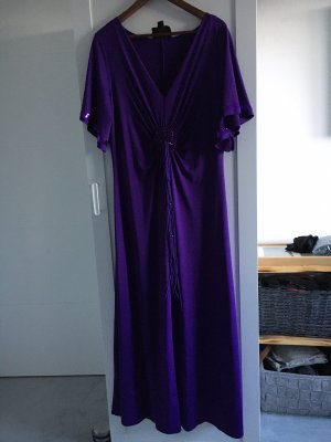 Sarah Kern Vestido de baile violeta oscuro