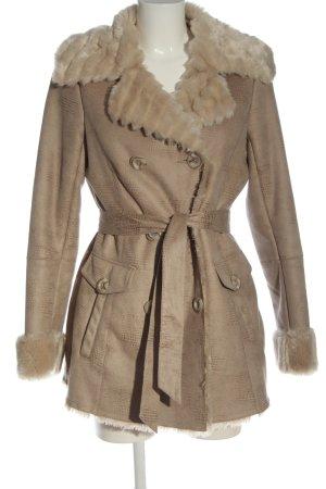 Sarah Kern Fake Fur Jacket natural white casual look