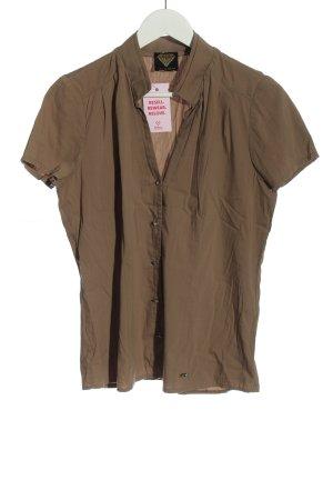 Sarah Kern Chemise à manches courtes brun style décontracté