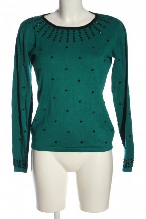Sarah Kern Langarm-Bluse grün Casual-Look