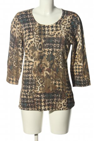 Sarah Kern Longshirt abstraktes Muster Casual-Look