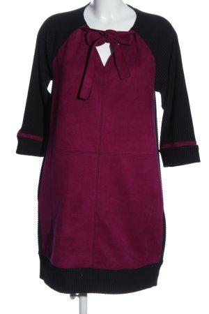 Sarah Kern Minikleid pink-schwarz Casual-Look