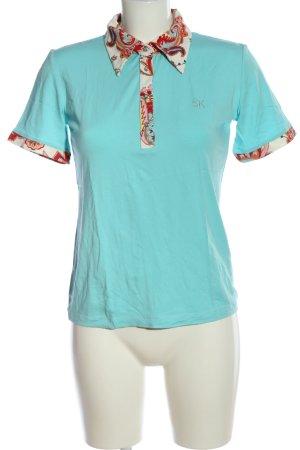 Sarah Kern Polo-Shirt Motivdruck Casual-Look